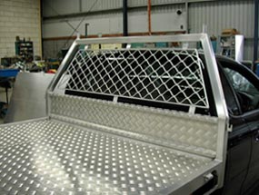 Tray and Cargo Barrier